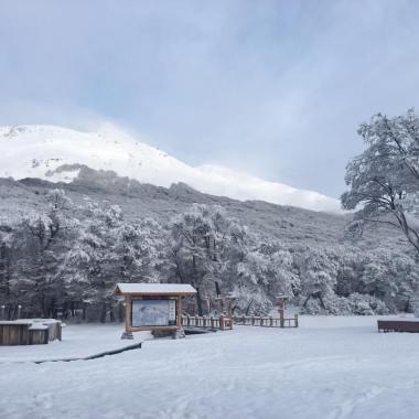 Cerro Castor, ayer