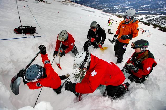 winter-avalanche rescue