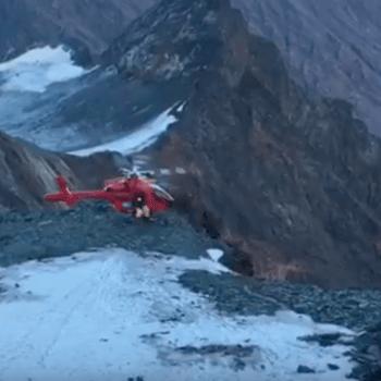 VIDEO: Dramático Accidente de Helicóptero en el Pico Más Alto deAustria
