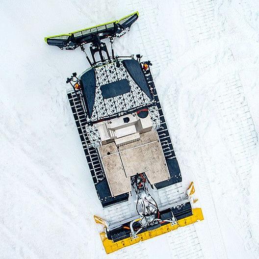 Ya Está Operando el Primer Pisa Nieves 100% Libre de Emisiones dePistenBully